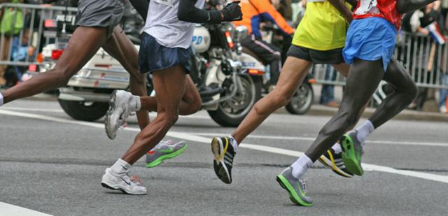 Vorfuß Lauf und Wadenschmerzen
