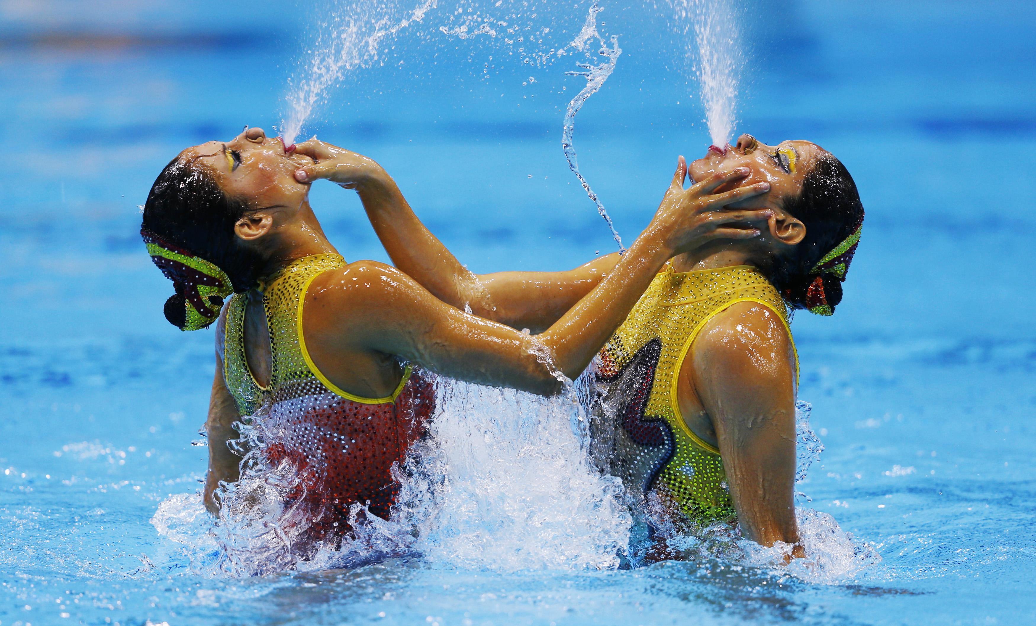 Синхронное плавание голые девочек 7 фотография