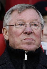 Vogels heutiger Gegner: Sir Alex Ferguson. - ferguson