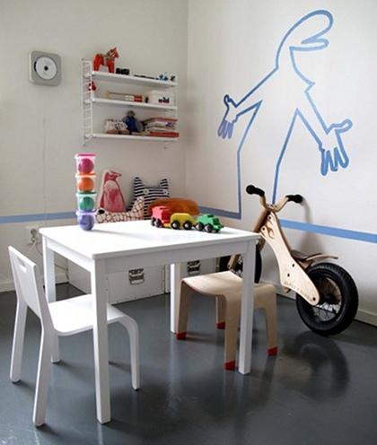 kreative ideen f rs kinderzimmer sweet home. Black Bedroom Furniture Sets. Home Design Ideas