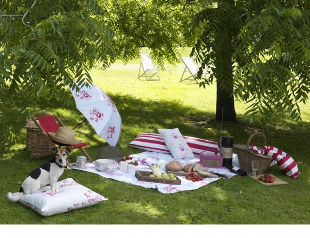 Romantischer Ausflug im eigenen Garten organisieren