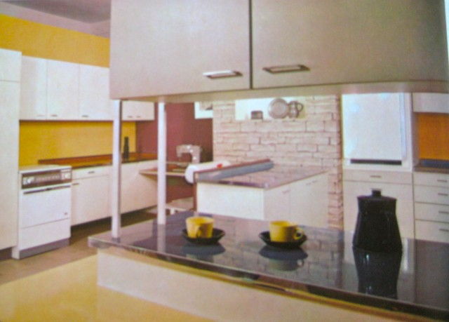 das essen zum retrolook sweet home. Black Bedroom Furniture Sets. Home Design Ideas