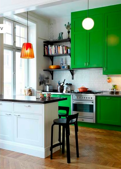 Küche : küche grün gestrichen Küche Grün and Küche Grün Gestrichen ...