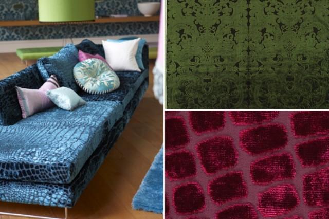 samt der k nig der stoffe zieht ein sweet home. Black Bedroom Furniture Sets. Home Design Ideas