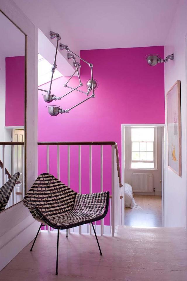 rosa räume | sweet home - Kinderzimmer Rosa Wand