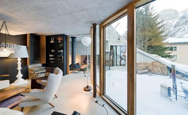 villa vals ein ferienhaus mit viel stil sweet home. Black Bedroom Furniture Sets. Home Design Ideas
