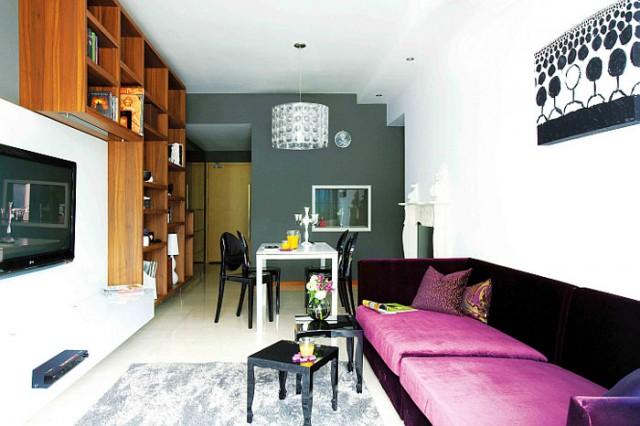 grosse ideen f r kleine wohnungen sweet home. Black Bedroom Furniture Sets. Home Design Ideas