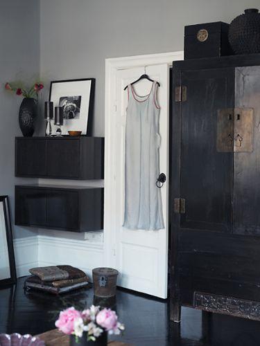 Grau alles andere als unscheinbar sweet home - Zimmer schwarz streichen ...