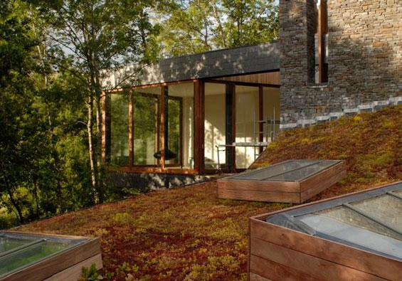 Ferien in einem modernen haus in wales sweet home for Wochenendhaus modern bauen