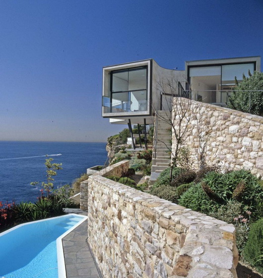 Ein haus am meer und picassos die badenden sweet home - Maison moderne bord de mer ...