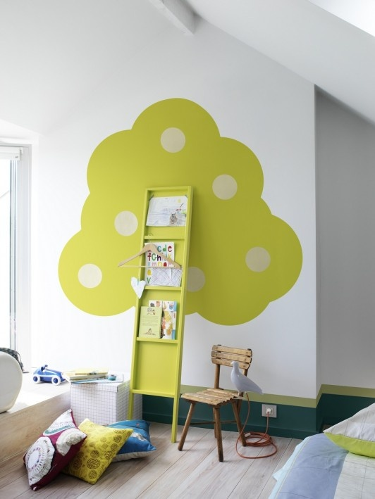 design : kinderzimmer wand design kinderzimmer wand design ... - Tolle Kinderzimmer Design Idee