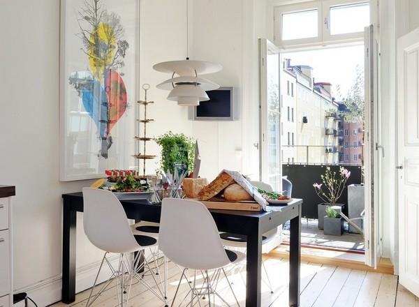 15 grosse ideen f r kleine wohnungen sweet home for Tisch nordic design