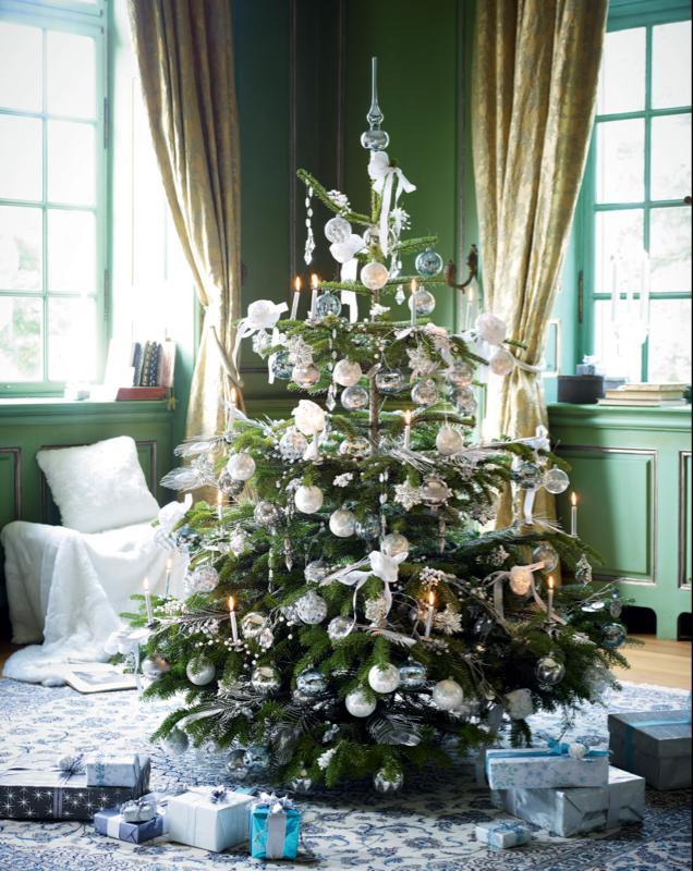 Weihnachtsb ume sweet home for Weihnachtsbaum rot silber