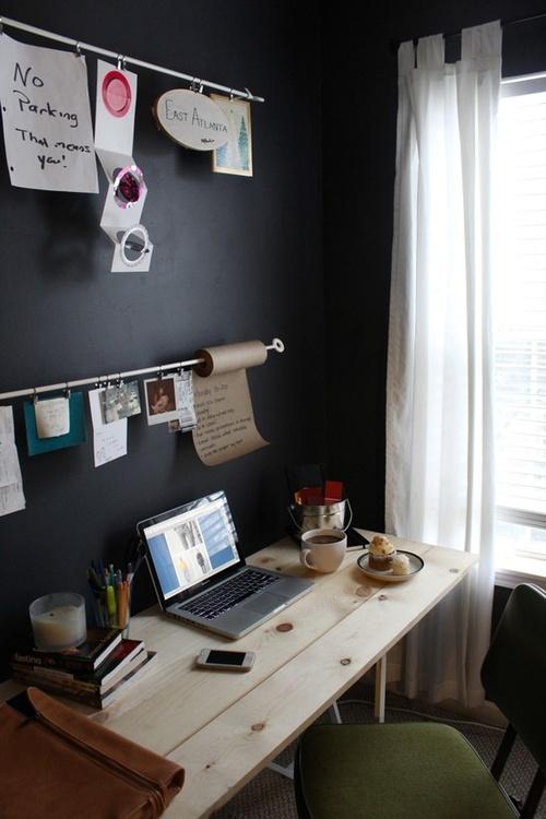 Gute ideen zum nachmachen sweet home - Small work spaces minimalist ...