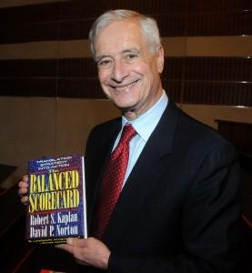 Robert Kaplan, Erfinder der Balanced Scorecard