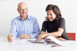 Ein starkes Team: Richard Plattner und Bettina Plattner-Gerber