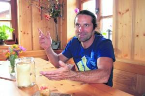 Alexander Huber, Profikletterer.