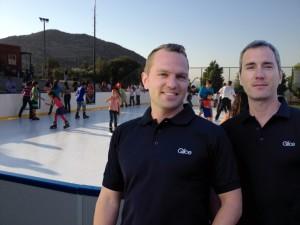 Viktor Meier (l.) und Toni Vera, die Gründer von Glice.
