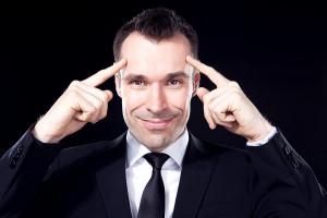 Christian Bischof, Doktor der Ökonomie und Mentalmagier.