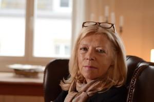 Anne Rueffer, Verlegerin und Schriftstellerin. Foto: Julian Schleelein