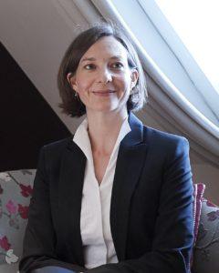 Iris Flueckiger, Direktorin im Hotel Schweizerhof.