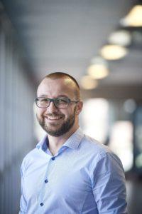 Roman Schmidt will einen Grosskunden für die Innovation gewinnen. Foto: mos.