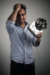 Tej Tadi, 35-jähriger Chef des Milliarden-Start-ups Mindmaze in Lausanne.
