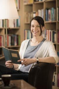 Regula Tanner, Gastgeberin im Büchercafé «Das Leseglück». Foto: David Schweizer