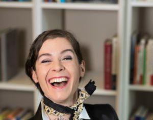 Sandra Neumann gab ihren Kaderjob auf und gründete mit zwei ETH-Forschern eine eigene Firma. Foto: Frank Schellenberg