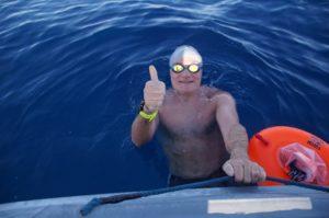 Massimo Martino schwamm von Korsika nach Sardinien.