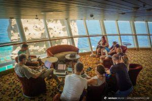 Arbeiten auf hoher See: Mit der «Nomad Cruise» über den Atlantik von Spanien nach Brasilien.