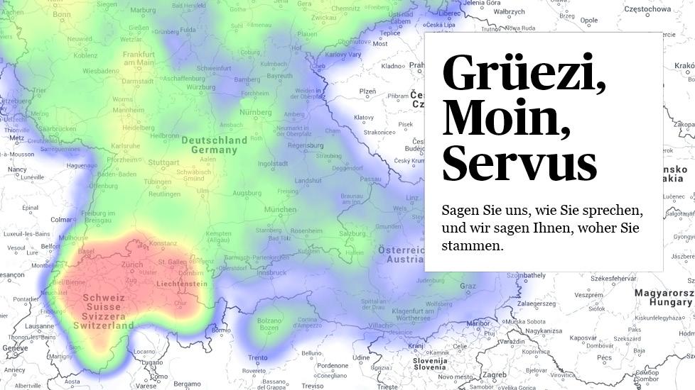Etwas Neues genug Dialekte werden in Deutschland am negativsten bewertet» - Wissen &WB_42