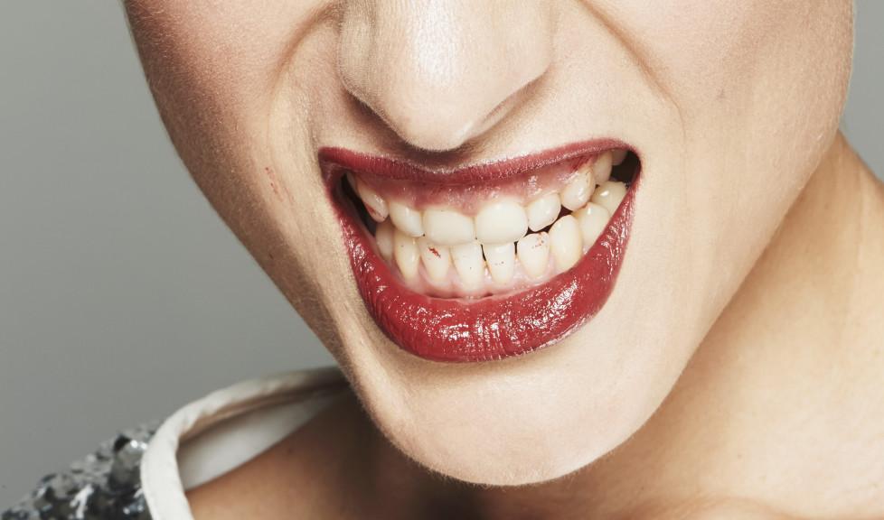 Der Dentalimplantatherstellter Straumann zeigt die Zähne.Foto: Seasons Agency