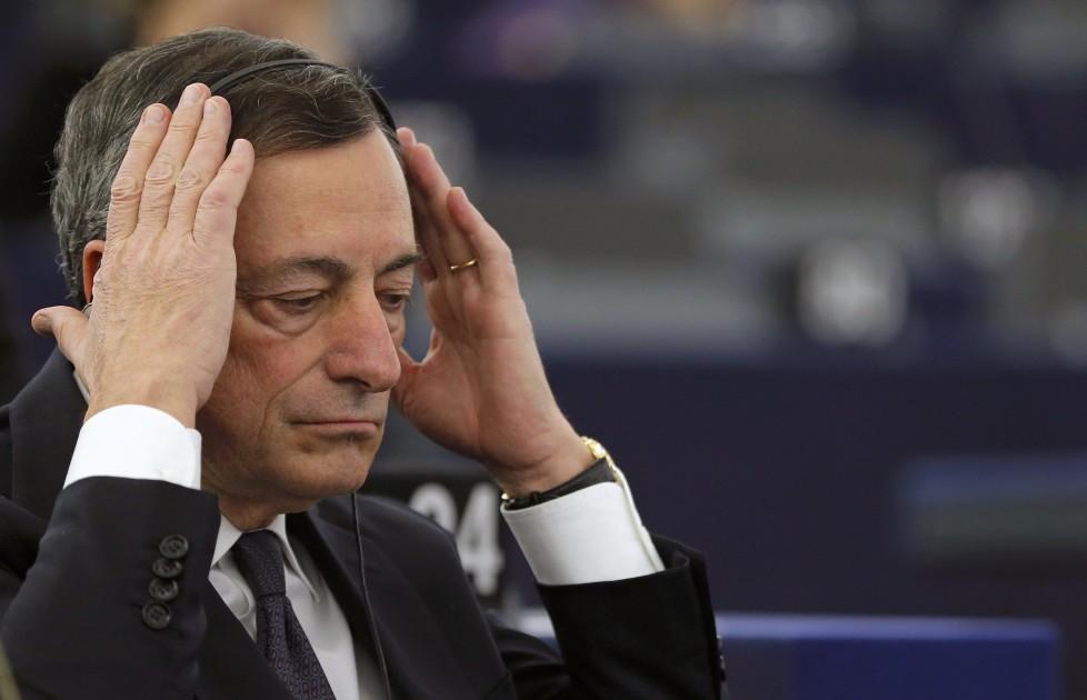 Zentralbank-Chef Mario Draghi: Mit seinem Latein am Ende? Foto: Reuters