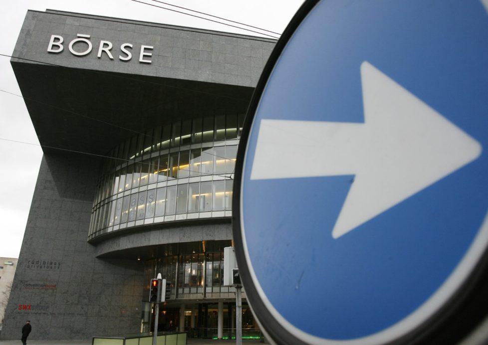 Schweizer Börse in Zürich: Der SMI bietet langfristig gute Renditechancen. Foto: Key