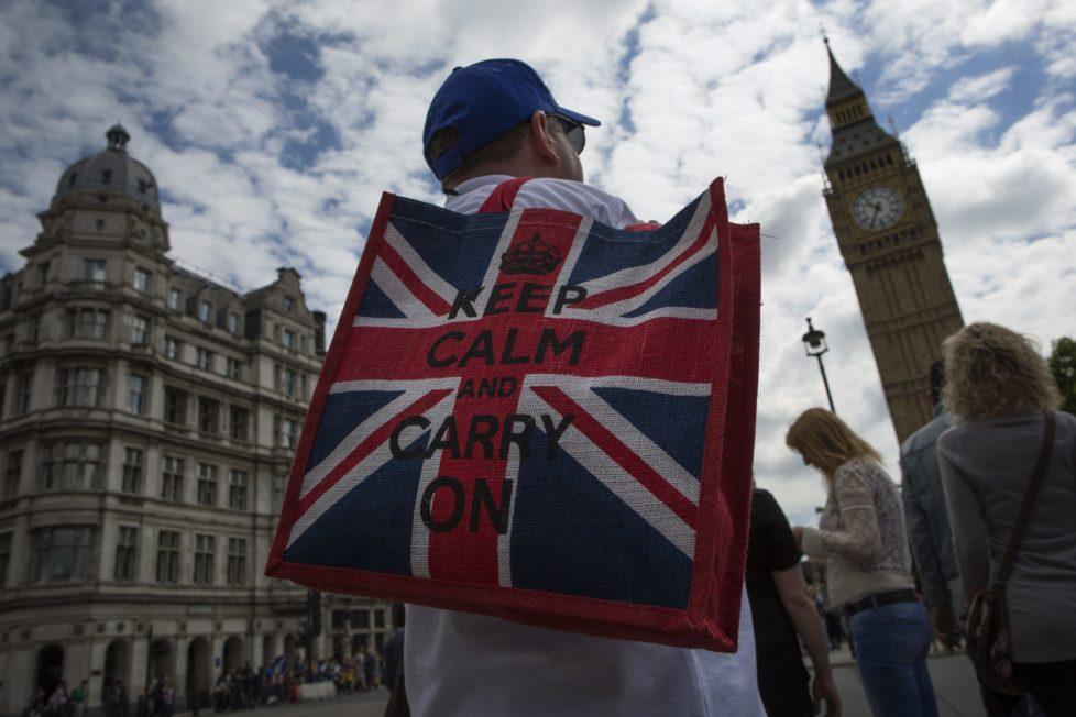 Nach dem Brexit: Ruhe bewahren und weitermachen. Foto: Getty