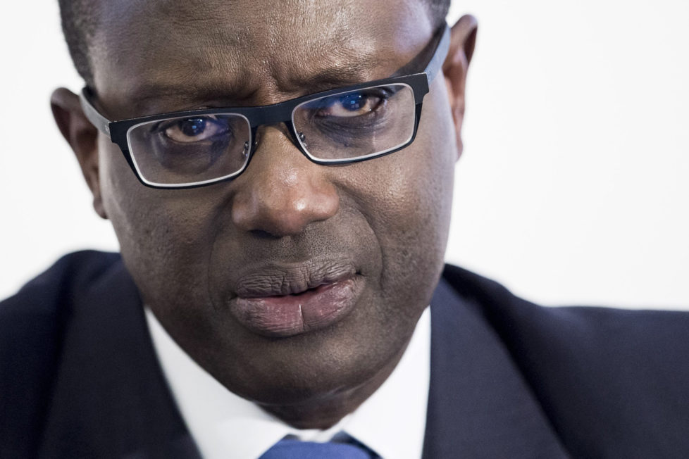 Tidjane Thiam, CEO der Credit Suisse: Foto: Keystone