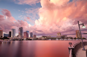 US-Bürger, die es sich leisten können, ziehen nach Florida: Tampa Bay. Foto: Getty Images