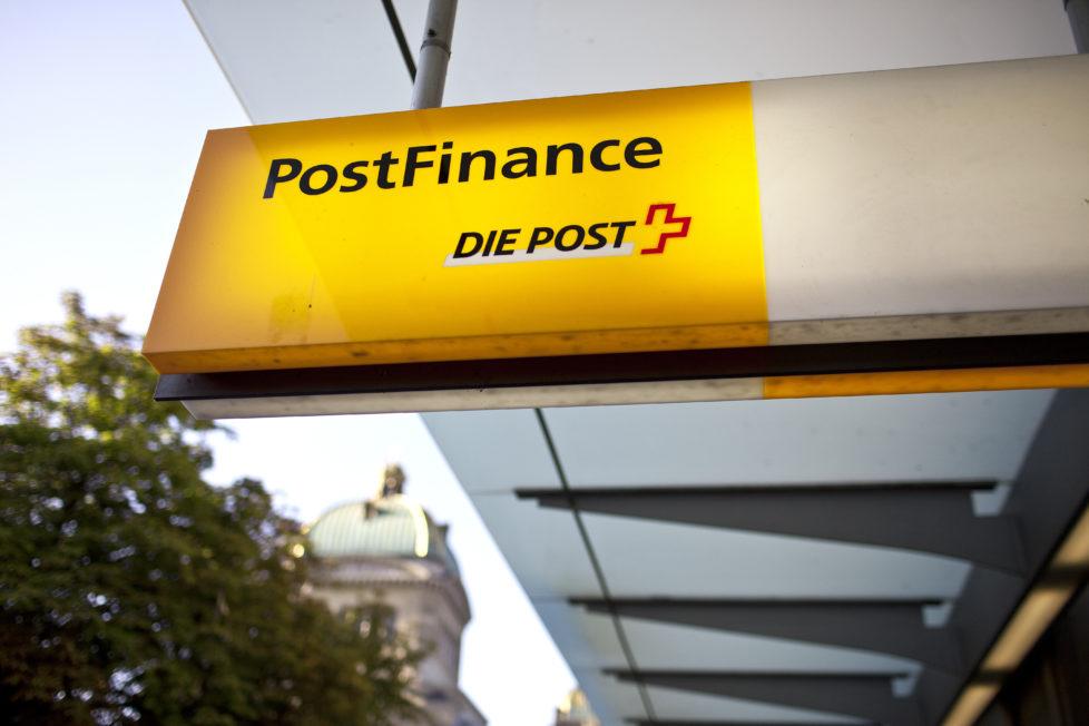 Postfinance: Bank mit Einschränkung. Foto: Key