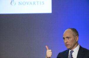 Joe Jimenez, Chef des Schweizer Pharmakonzerns: Novartis war 2016 die viertschlechteste Aktie im SMI. Foto: Patrick Straub/Keystone
