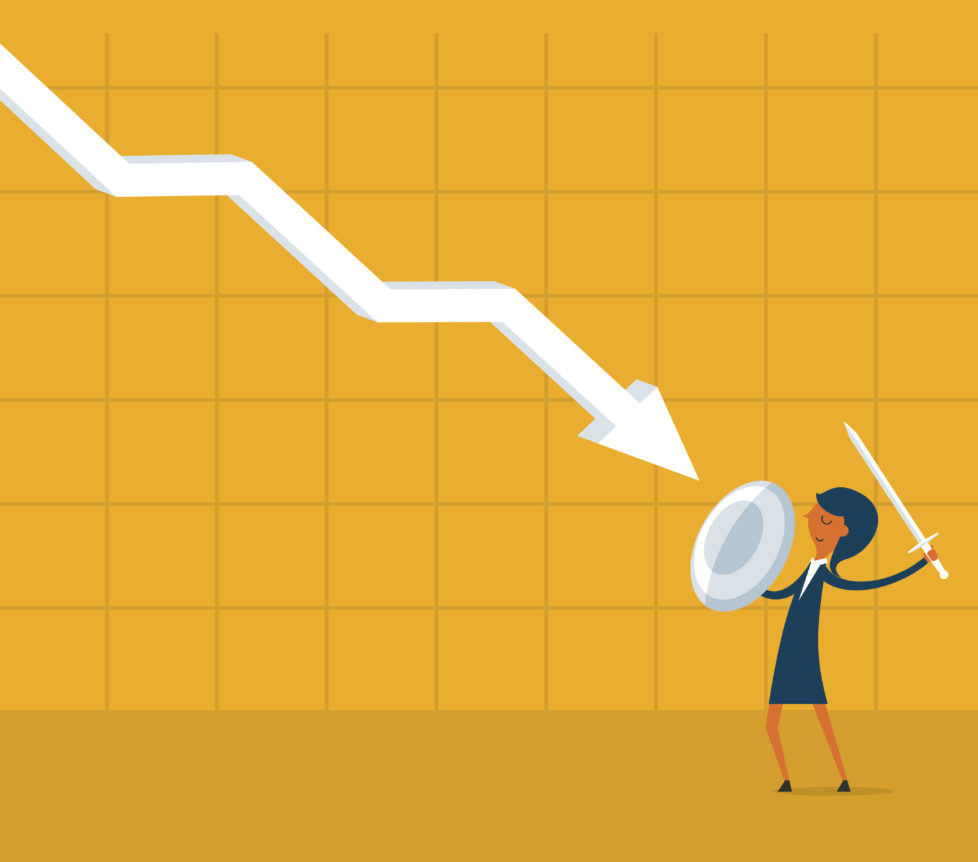 Buchverluste: Nicht entmutigen lassen, überdenken Sie Ihre Anlagestrategie. Foto: Getty
