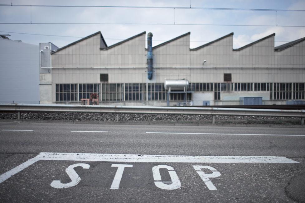 Niedergang der Bundmetallverarbeiterin Swissmetal: Fabrik in Dornach SO. Foto: Keystone