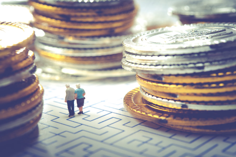 3. Säule oder Vorsorge gebundenes Sparen: Es lohnt sich, für die Rente zu sparen. Foto: Shutterstock
