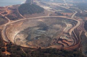 Die Mutanda-Kupfermine in der Demokratischen Republik Kongo: Glecore hat seine Anteile um 500 Millionen Dollar aufgestockt. Foto: Simon Dawson/Getty Images