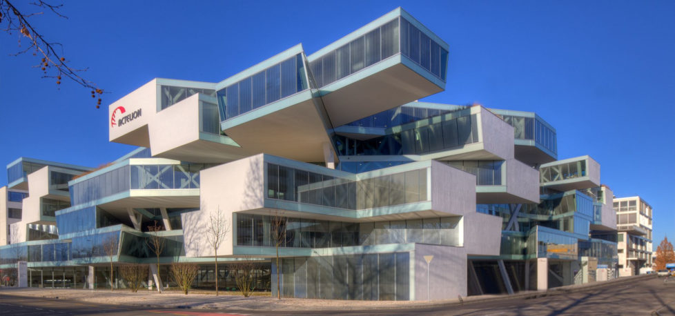 Actelion-Hauptsitz in Allschwil: Übernahme durch Johnson & Johnson kommt zustande. Foto: PD