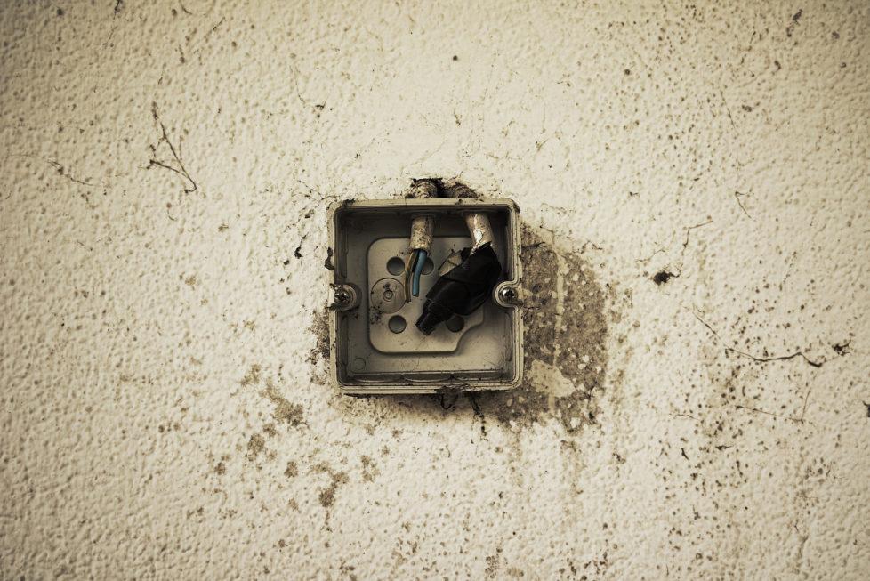 Kurzschluss: Die Schäden können zu einer reduzierten Miete führen. Foto: Getty