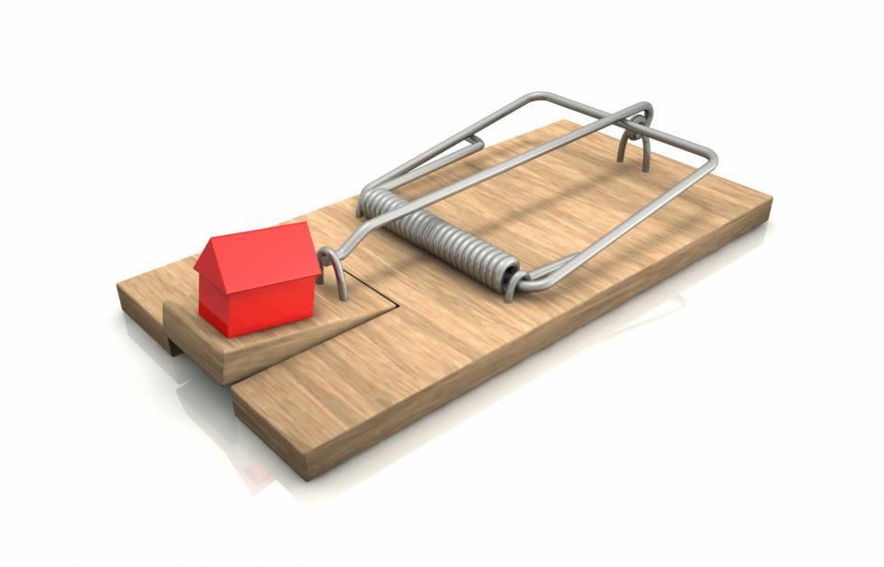Kostenfalle: Bei der Libor-Hypothek können schnell ansteigende Zinsen zum Problem werden. Foto Getty Images