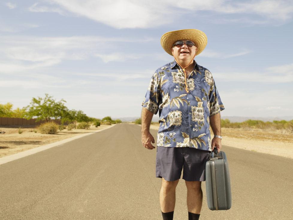 Geldanlage: Mit wenig Risiko lässt es sich besser reisen. Foto: Getty