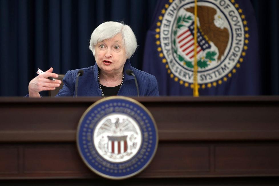 US-Notenbankchefin Janet Yellen: Bald vorbei mit Wertpapierkäufen. Foto: Getty