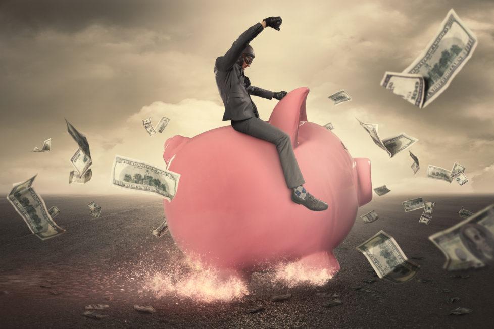 Bremsspuren im Anlagevermögen: Wer bei luschen Finanzfirmen anlegt, verliert sein ganzes Geld. Foto: Getty Images